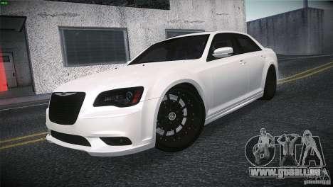 Chrysler 300 SRT8 2012 pour GTA San Andreas vue de droite