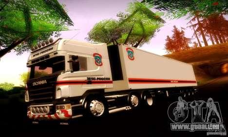 Scania R620 Emercom Romanow für GTA San Andreas
