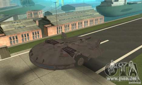 Millenium Falcon! für GTA San Andreas linke Ansicht