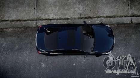 Infiniti G37 Coupe Sport pour GTA 4 est une vue de l'intérieur
