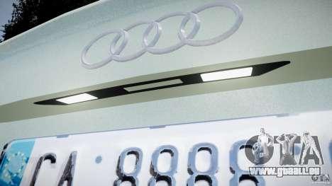 Audi RS6 2010 für GTA 4 Innenansicht