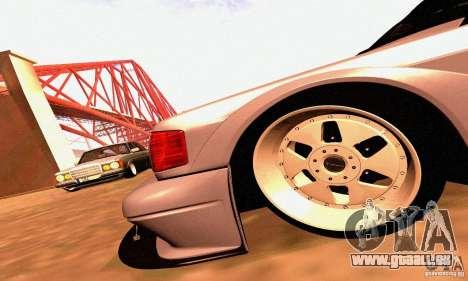 Mercedes-Benz 190E Drift pour GTA San Andreas vue de côté