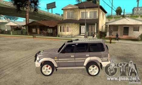Toyota Land Cruiser 80 für GTA San Andreas linke Ansicht