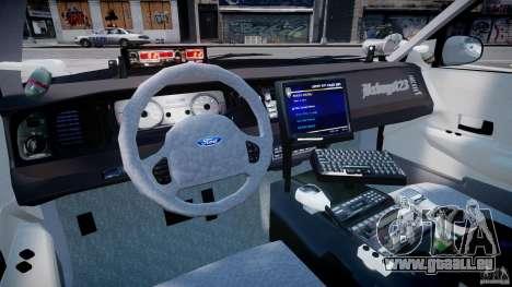 Ford Crown Victoria SFPD K9 Unit [ELS] pour GTA 4 est un droit