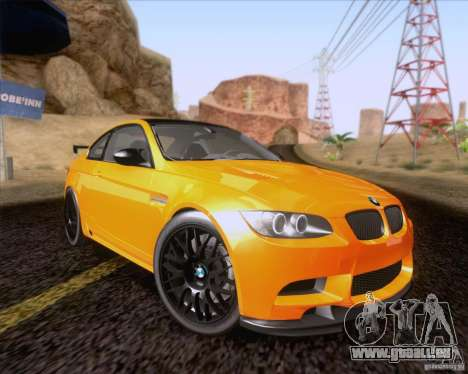 BMW M3 GT-S Fixed Edition pour GTA San Andreas