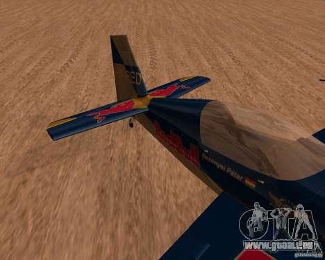 Extra 300L Red Bull für GTA San Andreas linke Ansicht