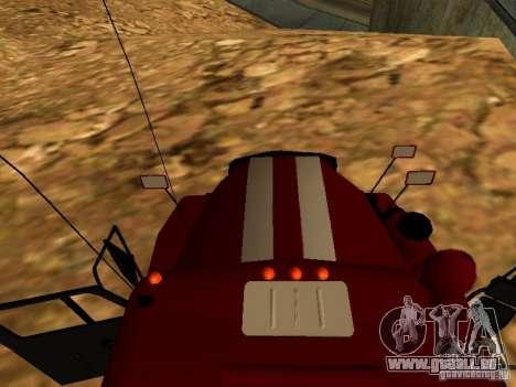 Ural 5557-40 Feuer für GTA San Andreas rechten Ansicht