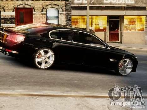 BMW 750 LI 2010 pour GTA 4 est un droit