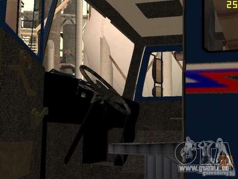 MAZ 533632 für GTA San Andreas Seitenansicht
