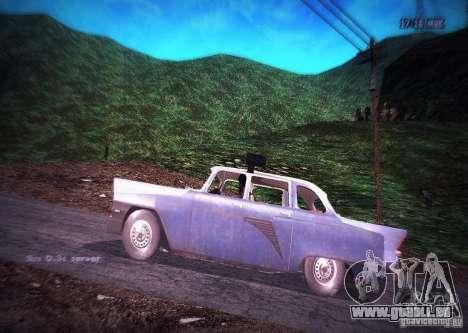 Gas 13 Polizei Kuba für GTA San Andreas linke Ansicht