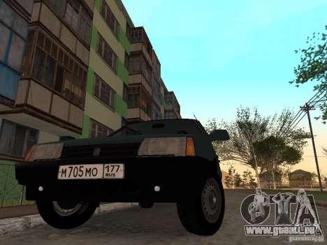 VAZ 21099 CR c. 2 pour GTA San Andreas vue de droite