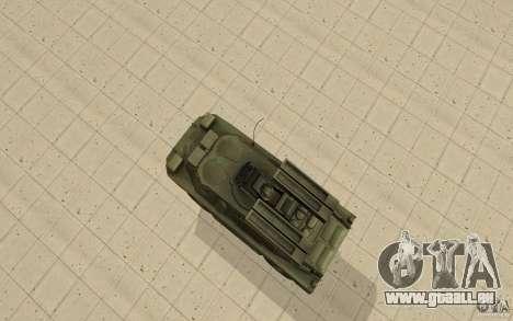 9 k 31 Strela-1 Standard pour GTA San Andreas vue de droite