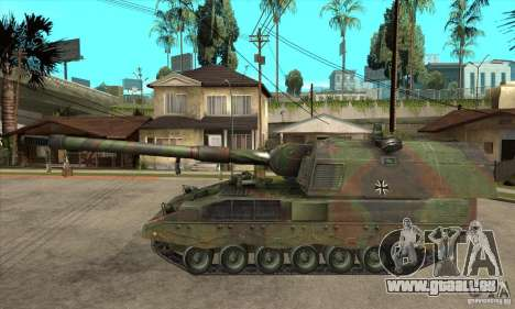 Panzerhaubitze 2000 pour GTA San Andreas laissé vue