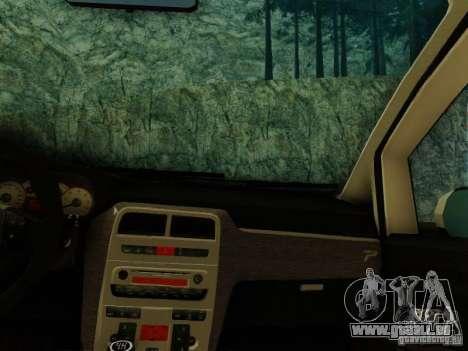 Fiat Grande Punto CLD Style für GTA San Andreas zurück linke Ansicht