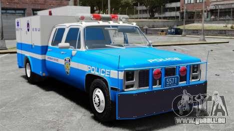 GMC C3500 NYPD ESU pour GTA 4