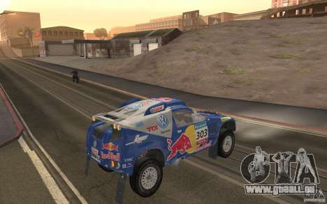 Volkswagen Race Touareg pour GTA San Andreas vue de droite