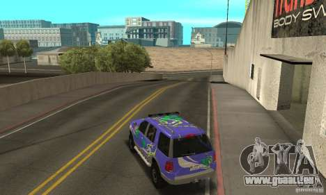 Ford Explorer 2002 pour GTA San Andreas salon