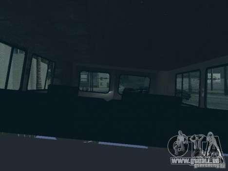 UAZ 2206 für GTA San Andreas Innen