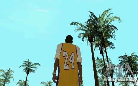 Afro-American HD skin pour GTA San Andreas quatrième écran