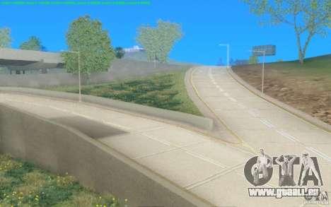 Konkrete Straßen von Los Santos Beta für GTA San Andreas zweiten Screenshot