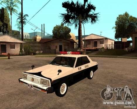 Nissan Skyline 2000 GT Police pour GTA San Andreas