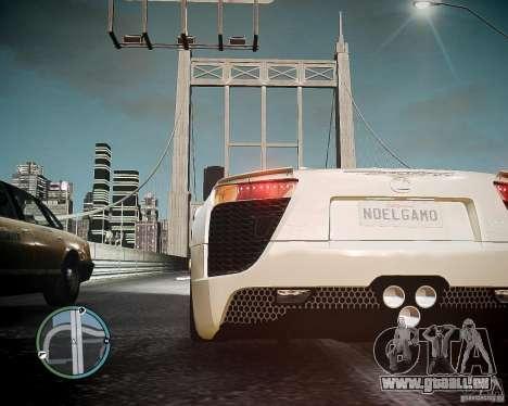 Lexus LF-A Roadster pour GTA 4 Vue arrière de la gauche