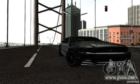 ENB Series 2013 HD by MR pour GTA San Andreas cinquième écran