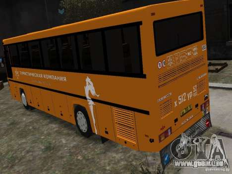 MAZ 152 A pour GTA 4 est une gauche