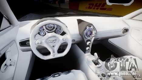 Ford GR-1 für GTA 4 Rückansicht