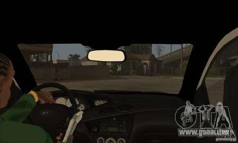 Ford Focus SVT für GTA San Andreas Innenansicht