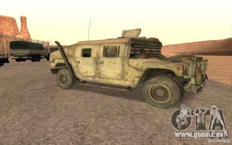 Hummer Spec Ops The Line für GTA San Andreas