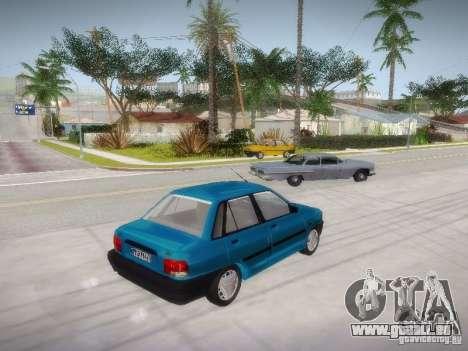 Kia Pride 131 pour GTA San Andreas laissé vue