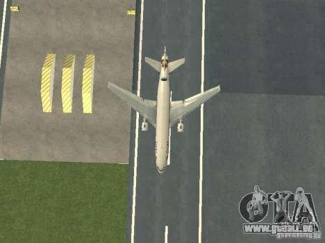 McDonell Douglas  DC 10 Thai Airways für GTA San Andreas Innenansicht