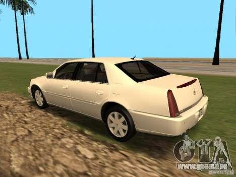Cadillac DTS 2010 pour GTA San Andreas vue de droite