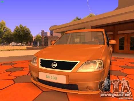 Nissan NP200 pour GTA San Andreas laissé vue