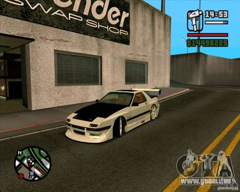 MAZDA FC3S DRIFT TUNE pour GTA San Andreas
