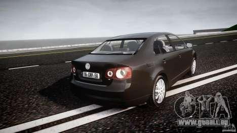 Volkswagen Jetta 2008 pour GTA 4 est un côté
