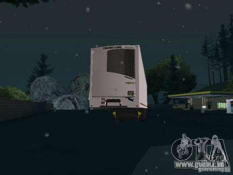 Réfrigérateur pour GTA San Andreas laissé vue