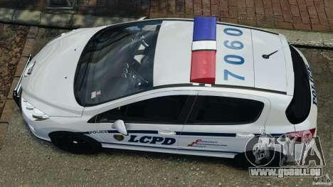 Peugeot 308 GTi 2011 Police v1.1 pour GTA 4 est un droit