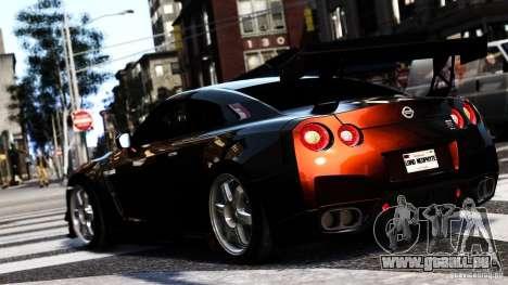Nissan GT-R R35 SpecV 2010 für GTA 4 linke Ansicht