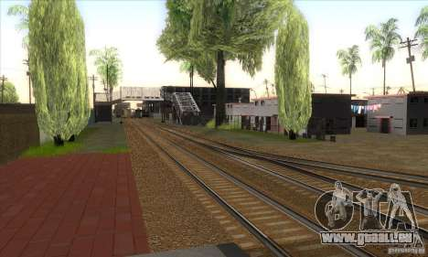 Russian Rail v2.0 für GTA San Andreas her Screenshot