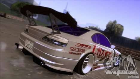 Nissan 150SX Drift pour GTA San Andreas sur la vue arrière gauche