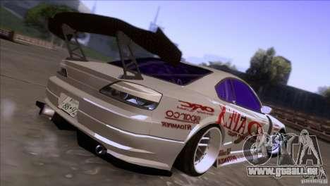 Nissan 150SX Drift für GTA San Andreas zurück linke Ansicht