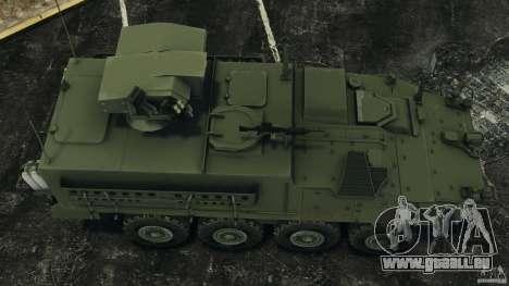 Stryker M1134 ATGM v1.0 für GTA 4 rechte Ansicht