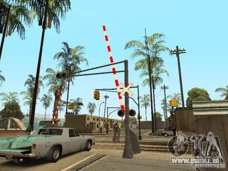 BAHNÜBERGANG RUS für GTA San Andreas