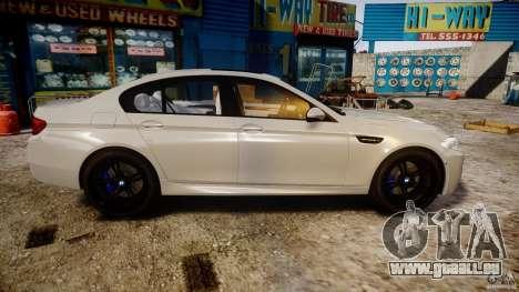 BMW M5 F10 2012 für GTA 4 Innenansicht