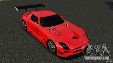 Mercedes-Benz SLS AMG GT3 2011 v1.0 pour GTA 4 Salon