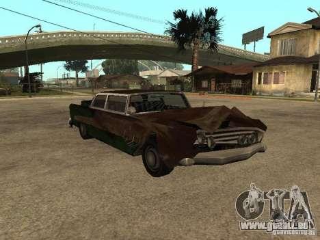 OceanicShit pour GTA San Andreas laissé vue