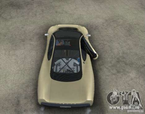 Jaguar XJ 220 Black Rivel für GTA San Andreas Innenansicht