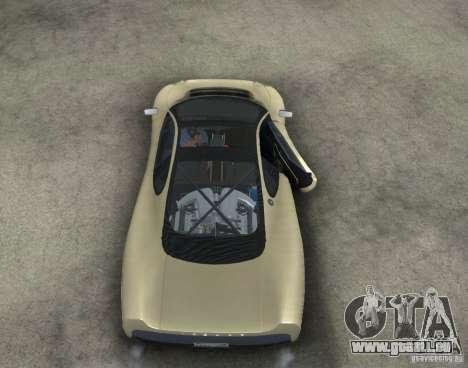 Jaguar XJ 220 Black Rivel pour GTA San Andreas vue intérieure